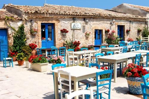 Marzamemi en Sicilia