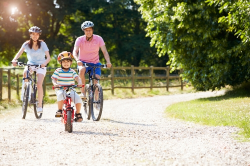 bici-en-familia